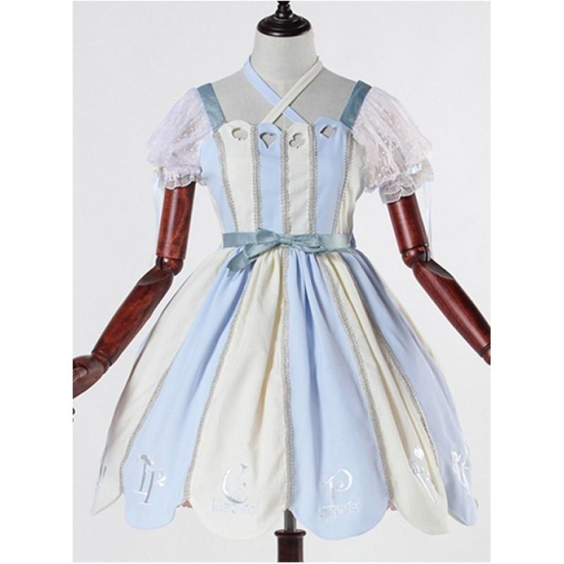 Blue white Alice 12O...