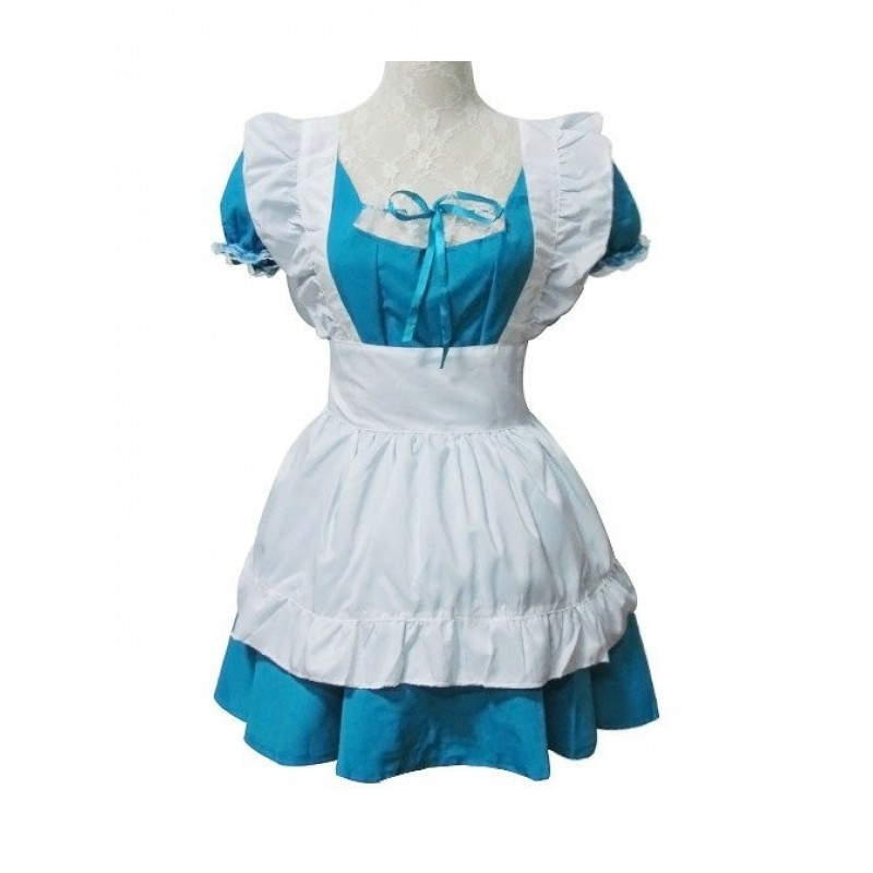 Blue Short Sleeves C...