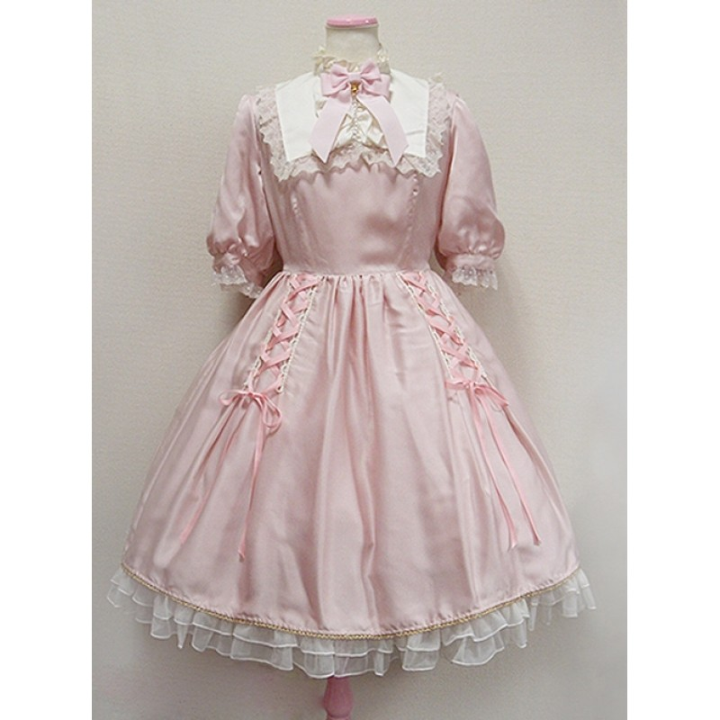 Cute Retro Pink Lace...