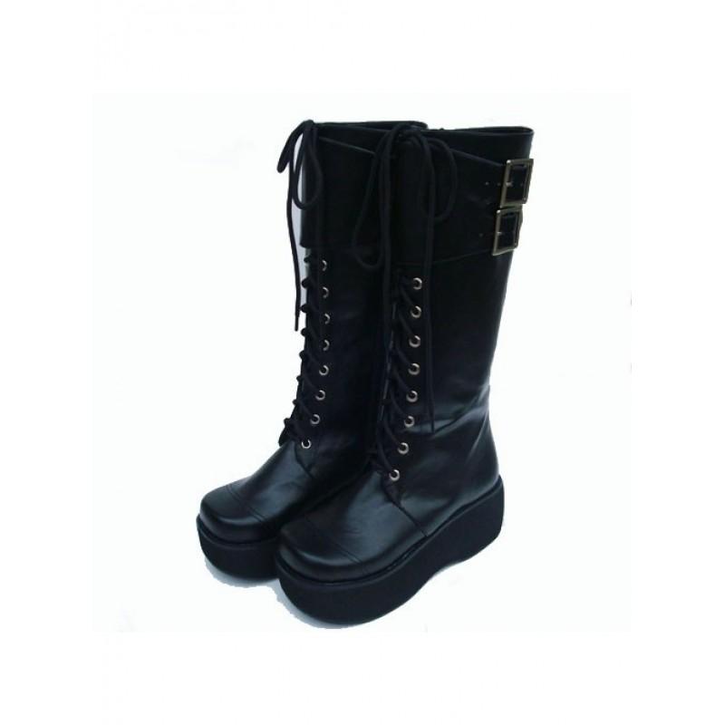 """Black 2.6"""" Heel..."""