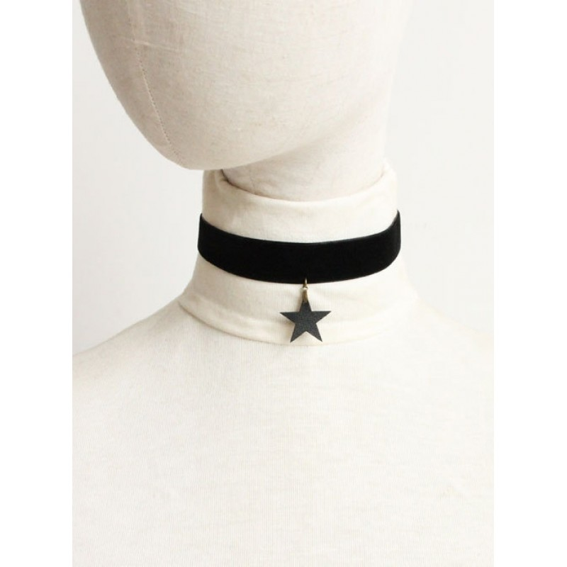 Black Five-pointed S...