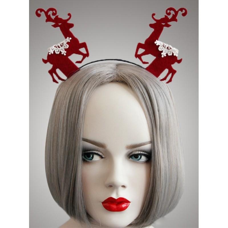 Christmas Red Elks C...