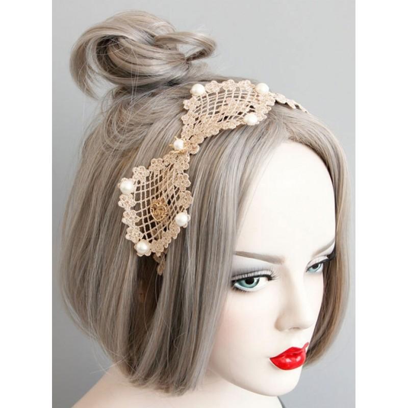 Sweet Lace Bowknot L...