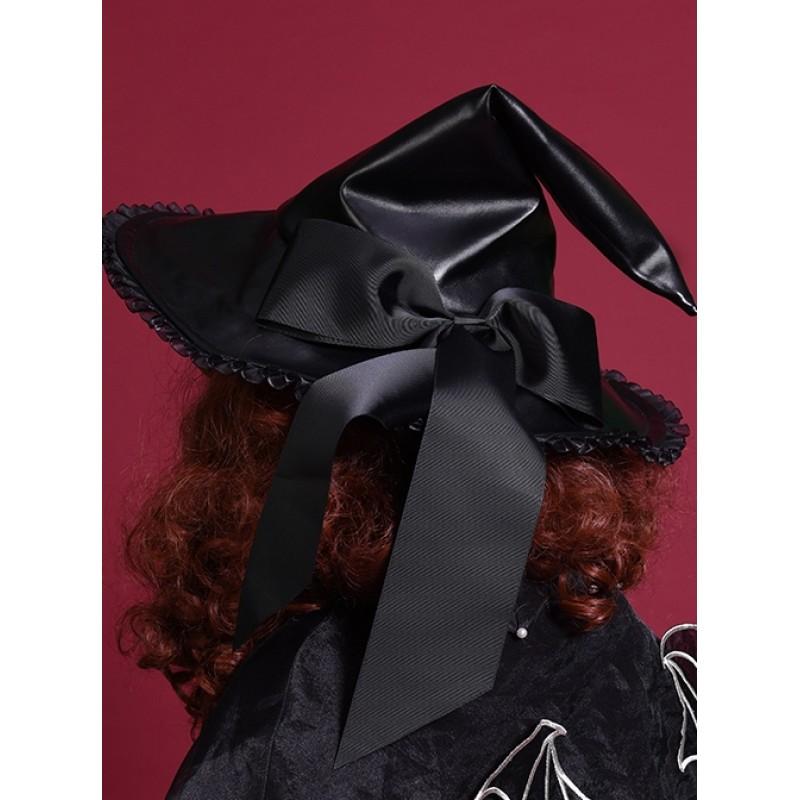 Halloween Black PU L...