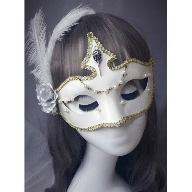 Elegant Gothic White...