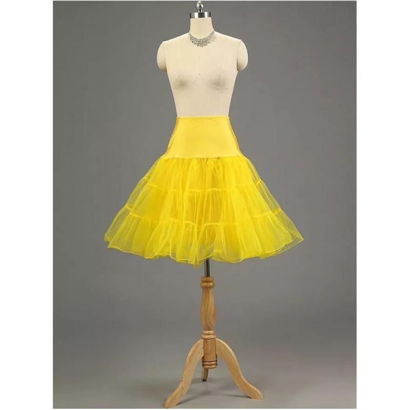 A-line Petticoat Retro Ye...