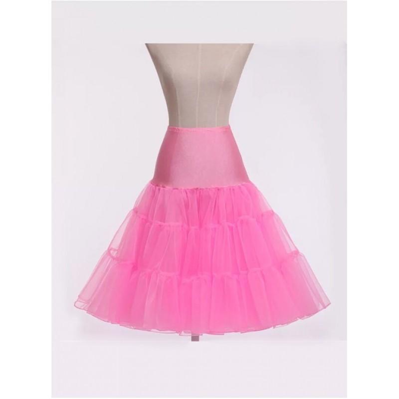 A-line Petticoat Retro Pi...