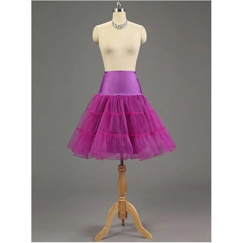 A-line Petticoat Retro Pu...