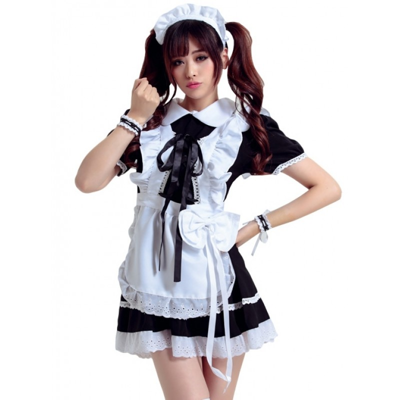 Black Cosplay Maid C...