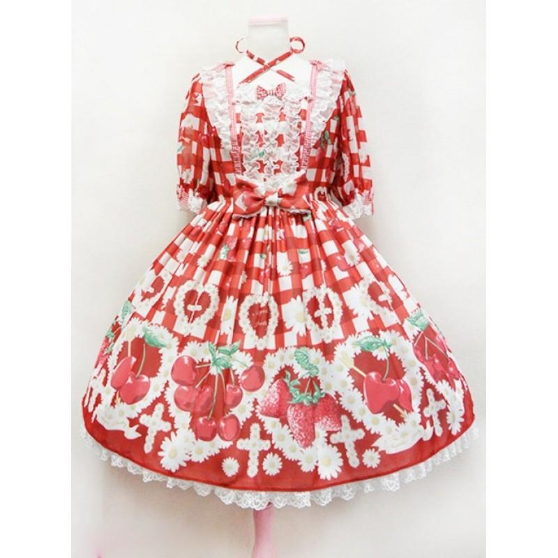 Fashion Cherry Red S...