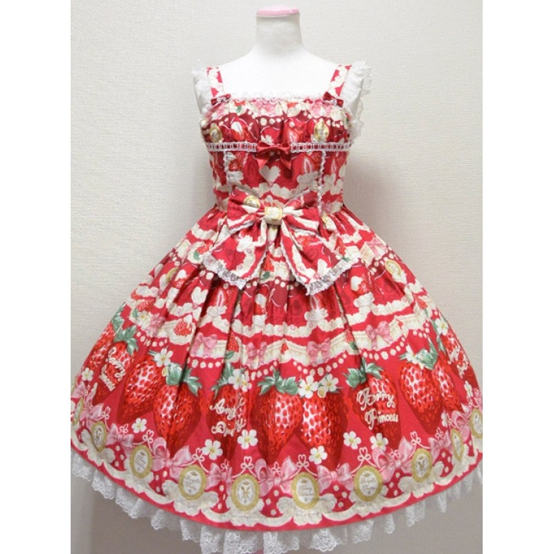 Fashion Cute Strawbe...