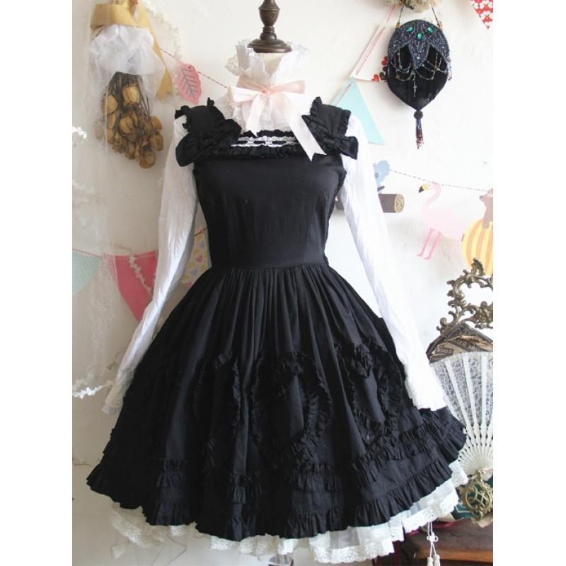 Black Cute Bowknot S...