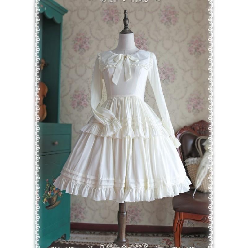 Chiffon White Lolita...
