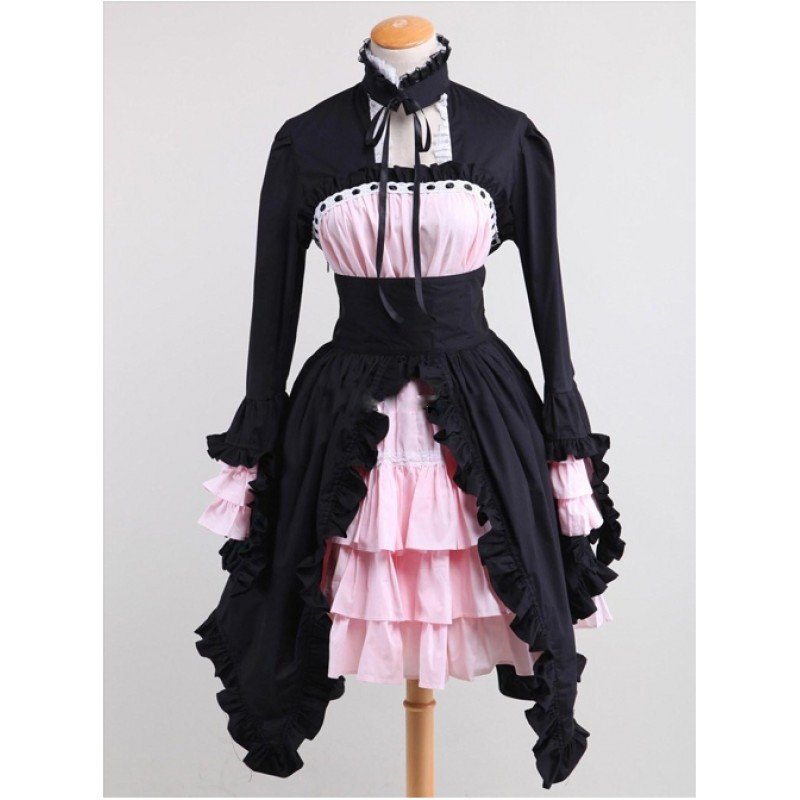 Cotton Black And Pin...