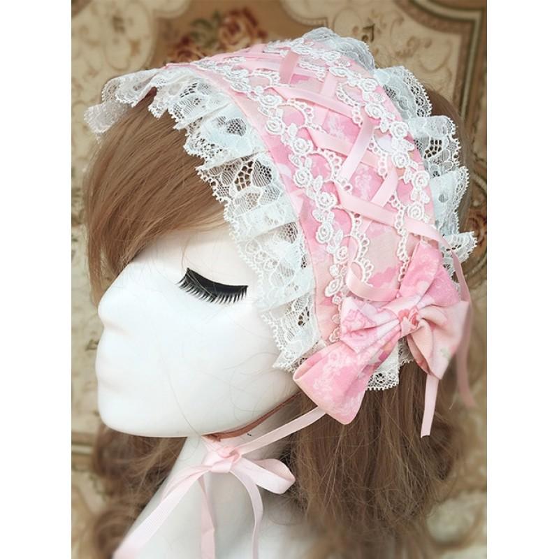 Pink Chiffon Printin...