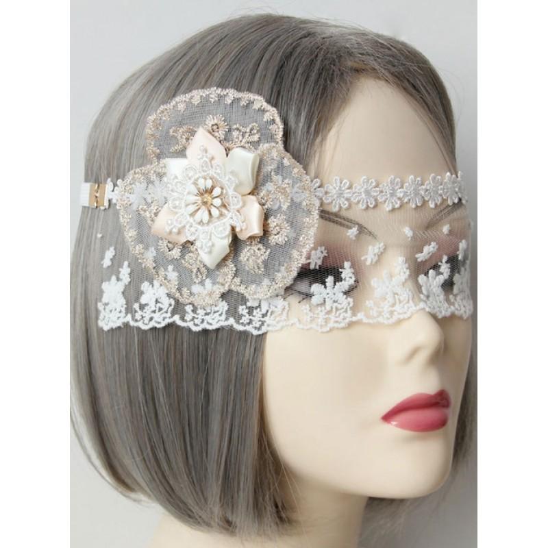 White Lace Flower Tu...