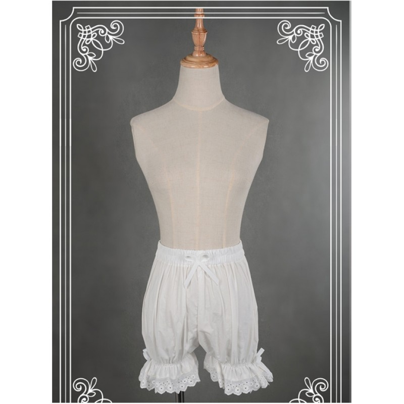 Cotton White Lace Bo...