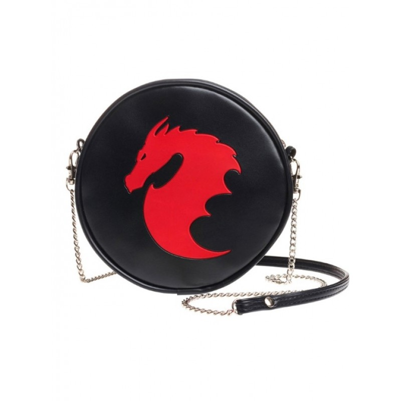 Punk Red Dragon Patt...