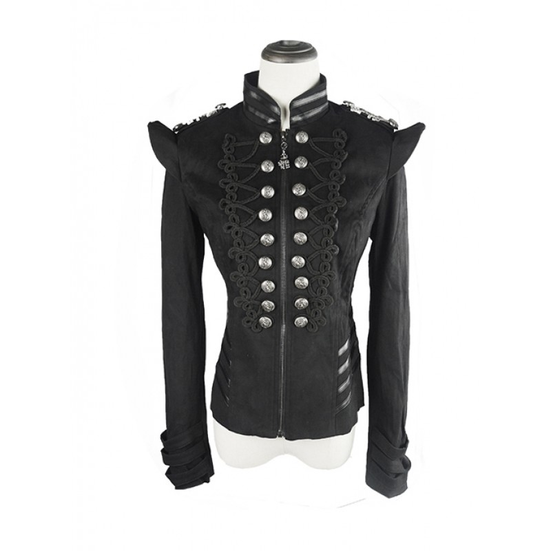 Gothic Black Embroid...