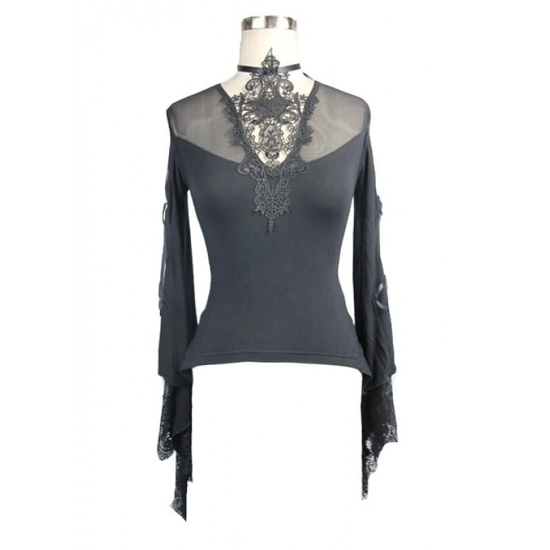 Punk Gothic Black La...
